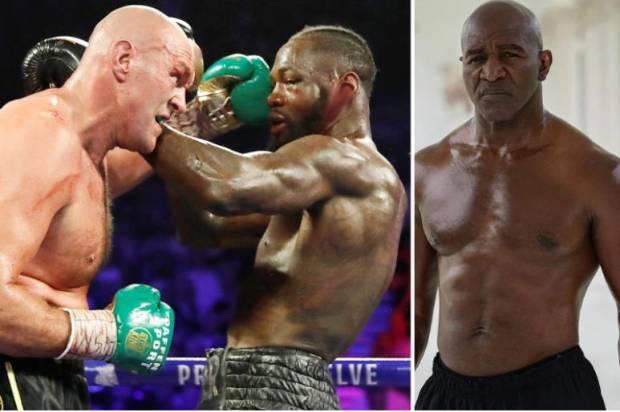 Wilder Nafsu Bekuk Tyson Fury, Holyfield: Jangan Banyak Ubah Gaya!