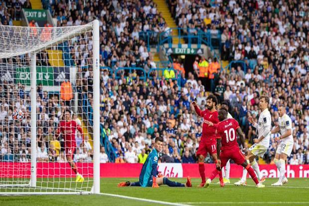 Hasil Liga Inggris, Leeds vs Liverpool: Salah Jadi Pembeda di Babak Pertama