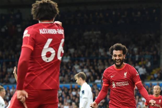 Mohamed Salah Cetak 100 Gol di Liga Inggris