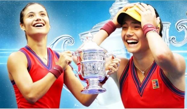 Usia 18 Tahun 302 Hari, Emma Raducanu Guncang Top 10 Juara Grand Slam Termuda