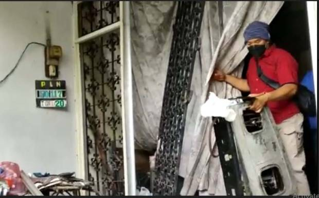 Gas Elpiji Bocor dan Meledak, Rumah di Mojokerto Hancur