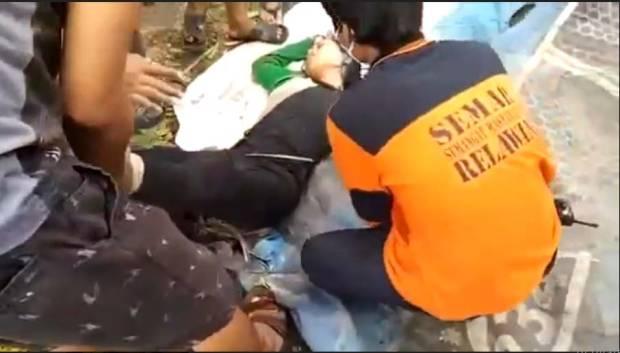 Gagal Bunuh Diri, Perempuan Ini Ditemukan Mengambang di Sungai Brantas