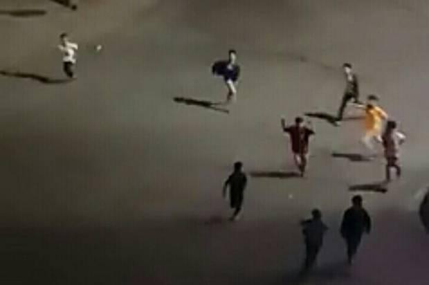 Tawuran di Depan Kantor Wali Kota Sidimpuan, Belasan Pelajar Diamankan Polisi
