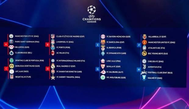 Liga Champions: Jadwal Penyisihan Grup, Barcelona vs Bayern dan Liverpool vs Milan