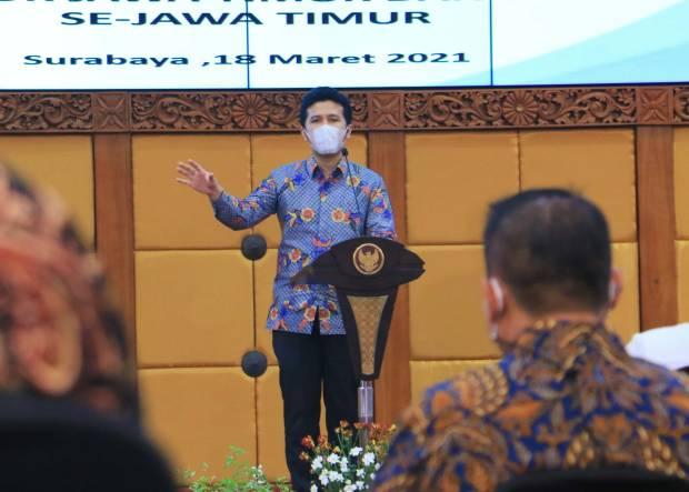 Wagub Emil Berharap Proyek Kawasan Ekonomi Khusus Tumbuhkan Investasi di Jatim