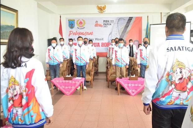 Wali Kota Salatiga Minta 15 Atlet Jaga Tradisi Emas di PON XX Papua
