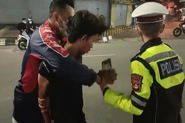 Resahkan Masyarakat, Pelaku Balap Liar Digerebek Polrestabes Palembang