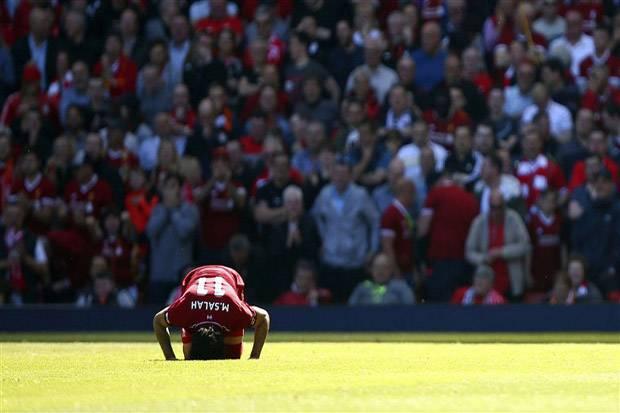 Liverpudlian Merindukan Selebrasi Sujud Mohamed Salah