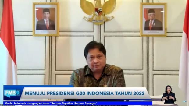Jadi Tuan Rumah G20, Indonesia Bisa Pimpin Pemulihan Ekonomi Global