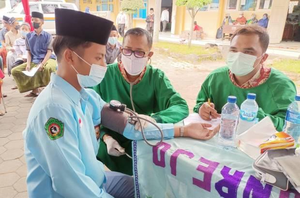 Bantu Wujudkan Herd Immunity di Jatim, ISNU Gelontor 15.000 Vaksin