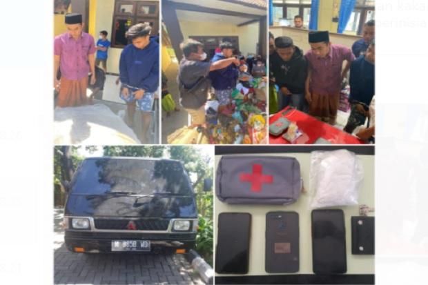 Kakak Beradik Dibekuk Usai Terima Paket Sabu 342 Gram dari Ibunya di Malaysia