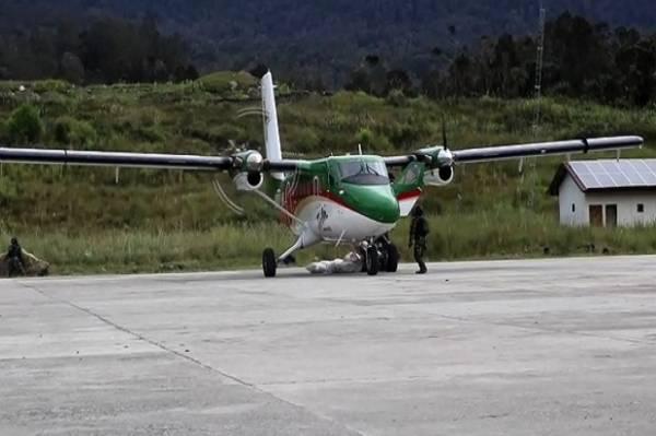 Pesawat Rimbun Air PK OTW Hilang Kontak di Intan Jaya Papua
