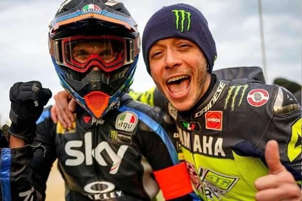 Adik Valentino Rossi Pakai Livery Spesial di MotoGP San Marino 2021