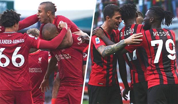 Liga Champions, Susunan Pemain Liverpool vs AC Milan: Van Dijk Cadangan