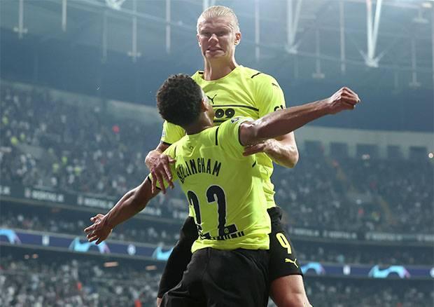Hasil Liga Champions, Besiktas vs Dortmund: Rekor Haaland Warnai Kemenangan Die Borussen