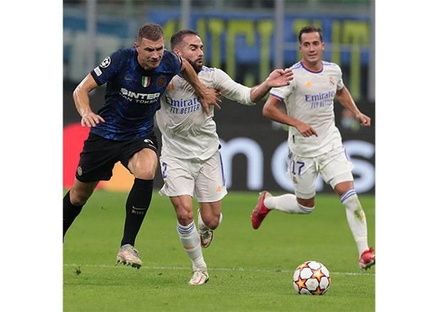 Liga Champions, Real Madrid vs Inter Milan: Skor Kaca Mata di Babak Pertama