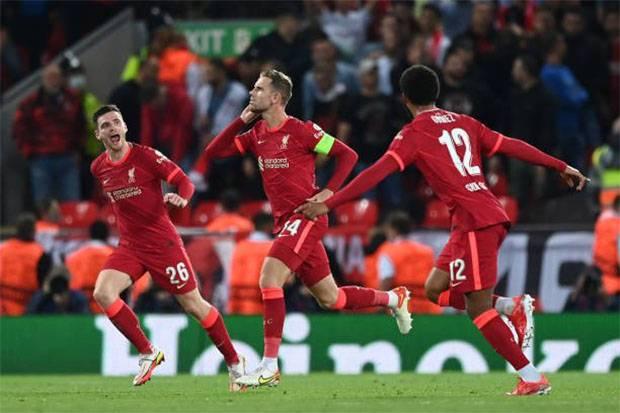 Hasil Liga Champions: Liverpool vs AC Milan, Tendangan Spektakuler Henderson Menangkan The Reds!
