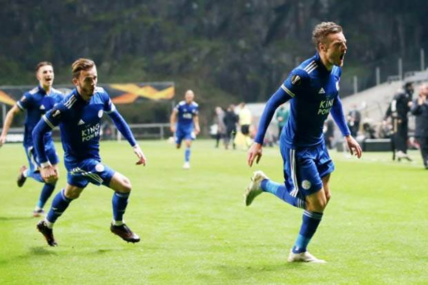 Jelang Leicester City vs Napoli: Skill Vardy yang Ditakuti Anguissa