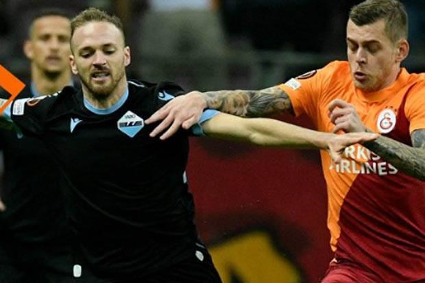 Hasil Babak I Galatasaray vs Lazio: Masih Sama Kuat