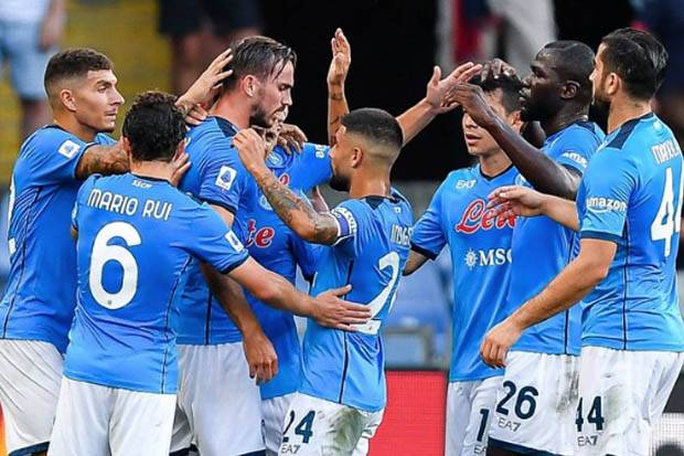 Susunan Pemain Leicester City vs Napoli: Insigne Starter, Jamie Vardy Cadangan