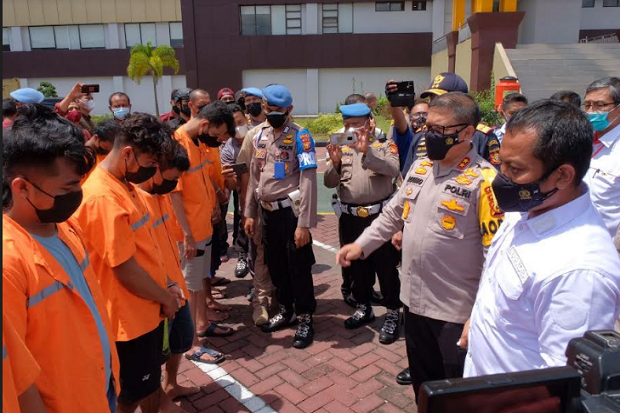 Polda Riau Gagalkan Penyelundupan 117 Kg Sabu dari Malaysia