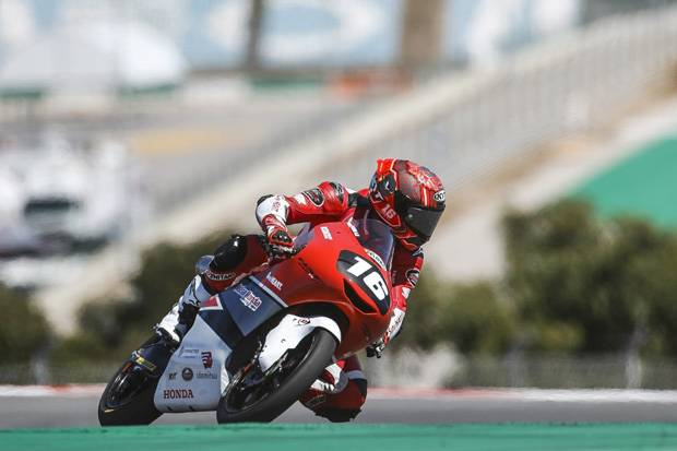 Berbagi Paddock dengan Pembalap MotoGP, Mario Aji Makin Bergairah Taklukkan Misano