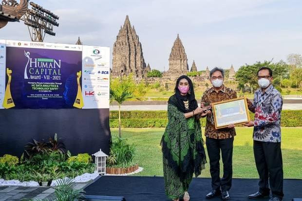 bank bjb Borong 4 Penghargaan di Ajang Human Capital Award 2021