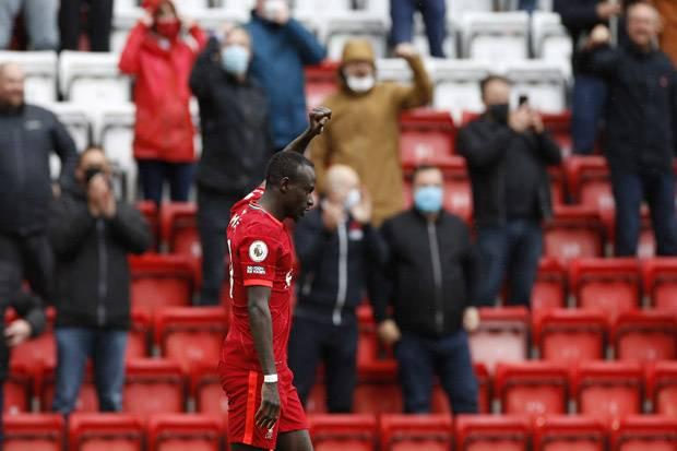 Sadio Mane, Anggota Baru Pencetak 100 Gol di Liverpool