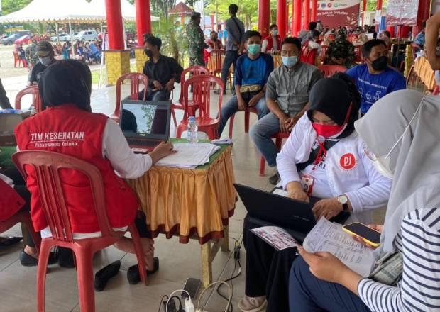 Wakil Gubernur Sultra Apresiasi Serbuan Vaksinasi Perempuan Jenggala