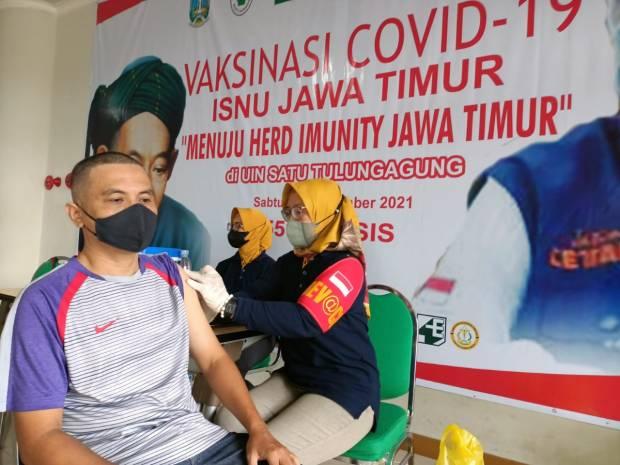 ISNU Jatim Kerahkan 300 Tenaga Kesehatan untuk Vaksinasi di Tulungagung