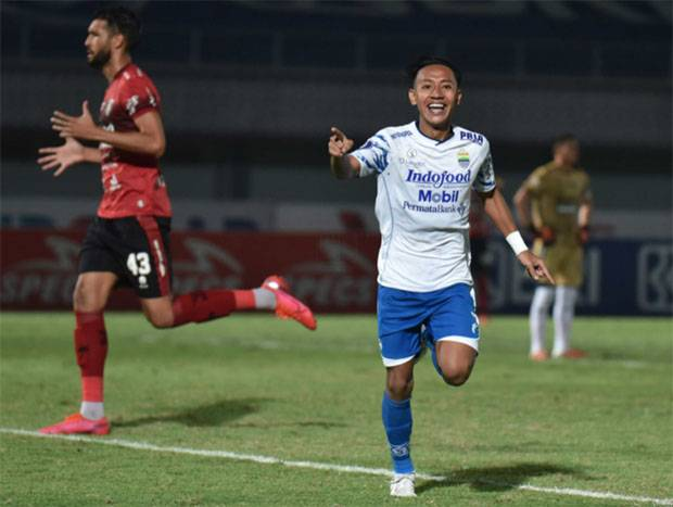 Beckham Putra Nugraha, Pencetak Brace Pertama Persib ke Gawang Bali United
