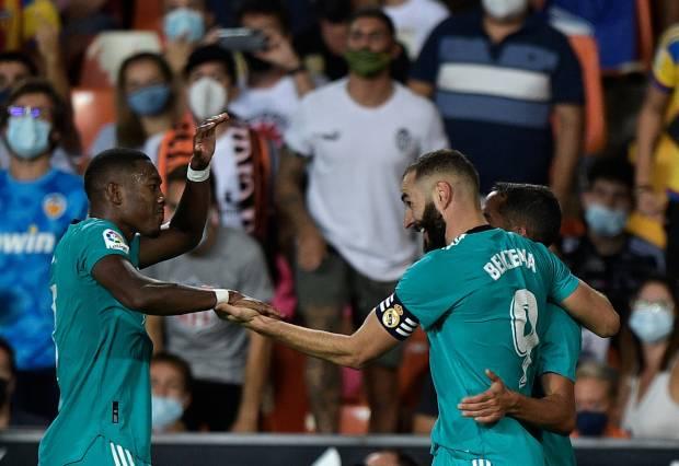 Hasil Liga Spanyol Valencia vs Real Madrid: Tuah Karim Benzema