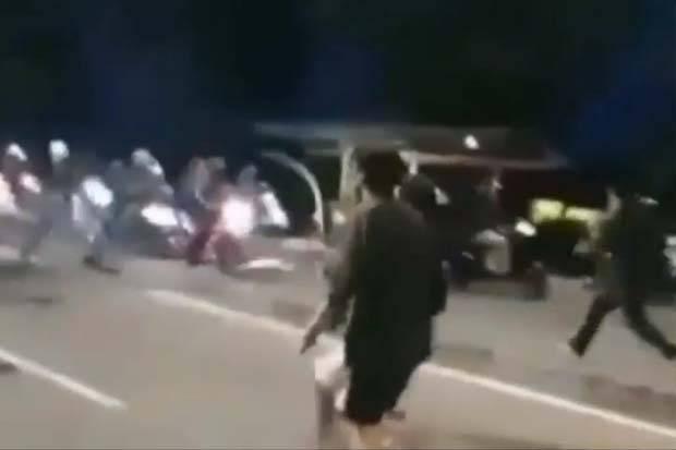 Makassar Mencekam, Tawuran Antar Warga 2 Kecamatan Pecah di Jalanan