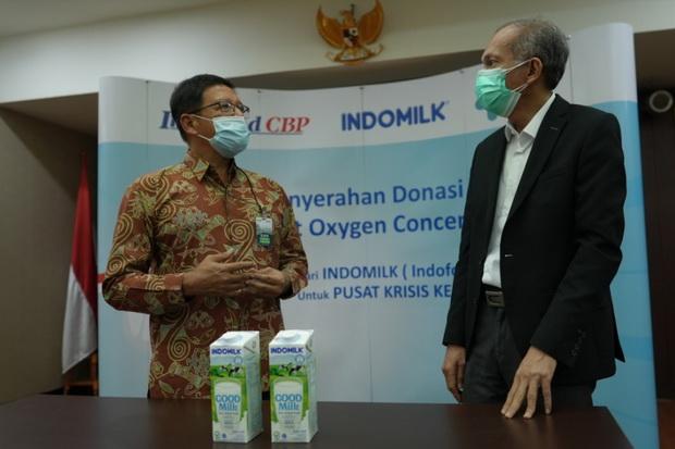 ICBP Indofood Serahkan 100 Unit Oksigen Concentrator ke Pusat Krisis Kesehatan