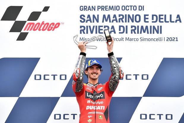 MotoGP: Menangi GP San Marino, Bagnaia Sempat Khawatirkan Agresi Quartararo