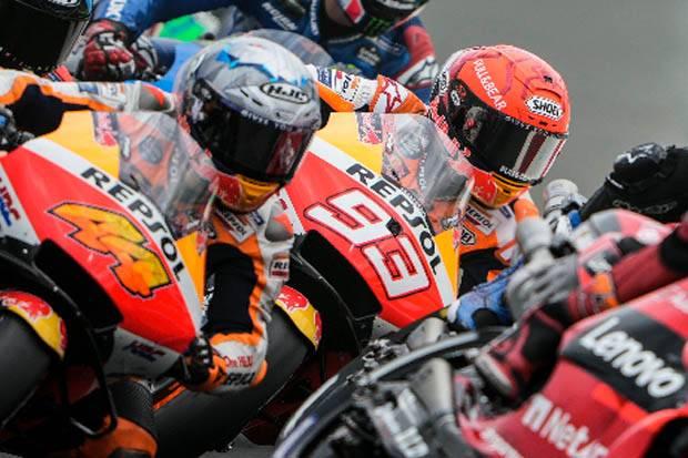 MotoGP San Marino 2021: Marquez Kecewa Berat Tertinggal 10,2 Detik