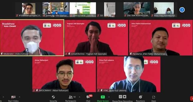 Roadshow Gerakan Nasional 1.000 Startup Digital di Jawa Barat