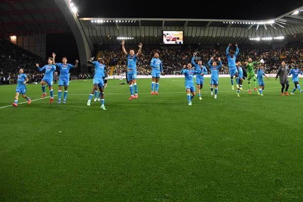 Napoli Lumat Udinese, Insigne: Saat Ini, Jadi Pemimpin Klasemen Tak Ada Artinya
