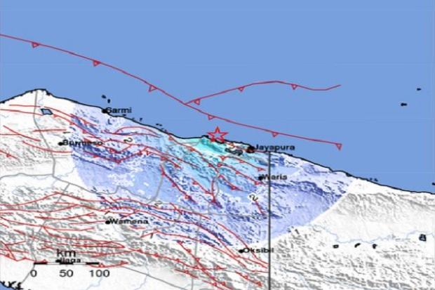 Daerah Lokasi PON XX Papua Diguncang Gempa Magnitudo 4,9