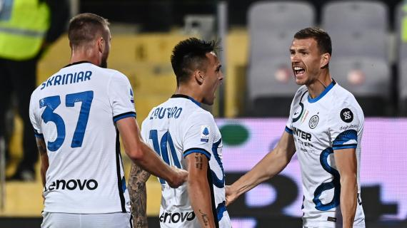 Hasil Fiorentina vs Inter Milan: Bikin Gol, Dzeko Nyetel dengan Lautaro