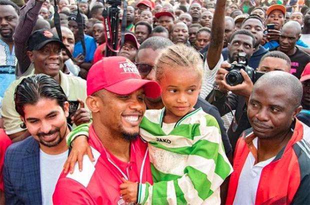 Samuel Eto'o Maju di Bursa Calon Presiden Sepak Bola Kamerun: Saatnya Membangun!