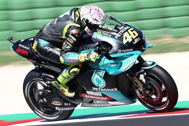 Valentino Rossi Catat Hasil Bagus di Uji Coba MotoGP 2022, The Doctor: Hari Baik!
