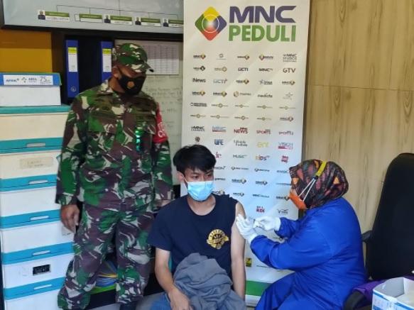 Percepat Herd Immunity, MNC Peduli Dukung Desa Cipanas Cianjur Gelar Vaksin untuk Warga