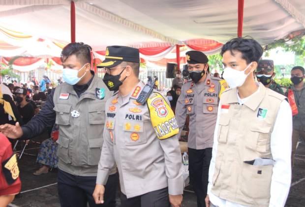 Percepat Herd Immunity, Polrestabes Surabaya Gencar Gelar Vaksinasi