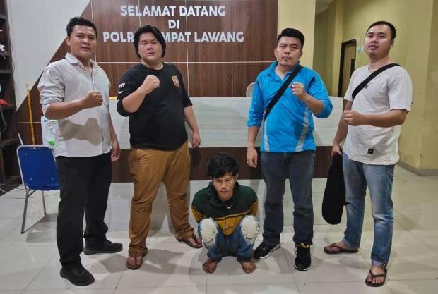 Gagahi Pelajar SMA, Pemuda Empat Lawang Gemetaran Diborgol Polisi