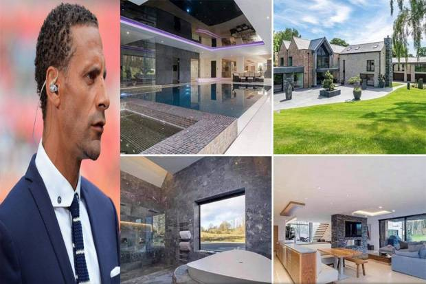 Rio Ferdinand Melongo Banyak Orang di Rumah Ronaldo: Cris, Siapa Mereka?