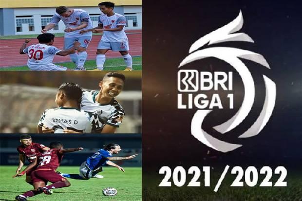 Hasil Pertandingan dan Klasemen Sementara Liga 1, Kamis (23/9/2021)