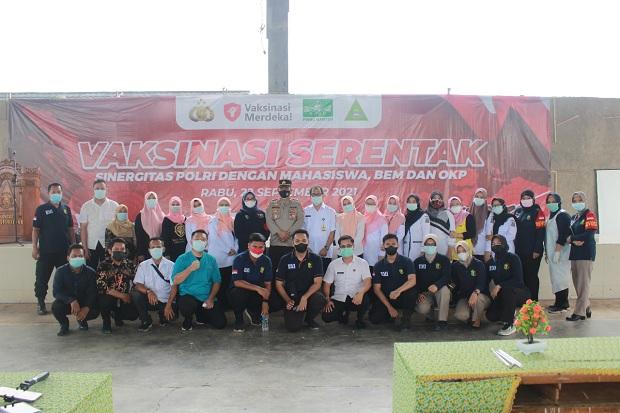 Gandeng Aktivis Kepemudaan dan Keluarga NU Banten, Polri Kerjasama Sukseskan Vaksinasi