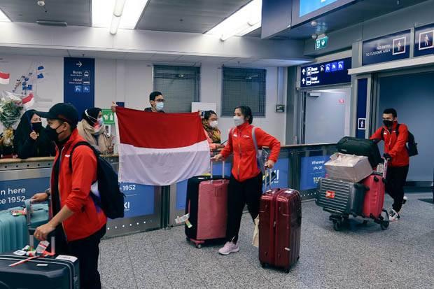 Tim Piala Sudirman Indonesia Sempat Panik Tak Bisa Langsung Mendarat di Finlandia