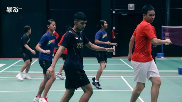 Piala Sudirman: Latihan Perdana, Indonesia Fokus Pulihkan Kebugaran Pemain